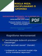 Okrogla Miza Dkz Spomin- LECTURE MEMORY EEG BRAIN