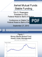Money Market Mutual Funds and Stable Funding