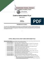 Campus Improvement Plan