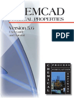 Chemcad Physical Properties