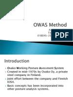 OWAS Method (Student Presentation)