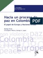 PARDO, Rodrigo, Proceso Paz Colombia