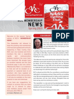 NCC Spring '13 Membership Newsletter - Issue 2