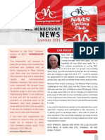 NCC Summer '13 Membership Newsletter - Issue 3