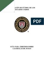 201011 Guia Para Arbitros Sobre Las Reglas de Juego