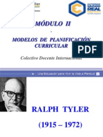 Modelos de Planificacion Curricular