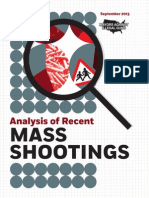 Analysis of Mass Shootings