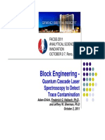 Quantum Cascade Laser Spectroscopy to Detect Trace Contamination