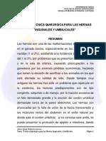 TESIS- Tecnicas Quirurgicas Para Las Hernias Inguinales y Umbilicales