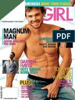 Playgirl August 2007- Magazine