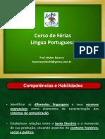 Curso de Férias Português
