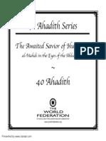 40 Hadith Series - The Awaited Saviour