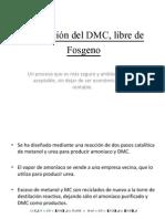 Producción del DMC, libre de Fosgeno
