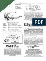 St. Timothy L.A. July 5 Bulletin.