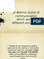 6 Types of Communicators
