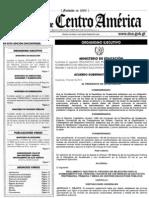 Acuerdo Gubernativo 188-2013 (Oposición)