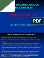 Indices Periodontales- 2