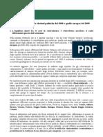 Analisi Istituto Cattaneo - Flussi Elettorali 2008-2009 (24 Giugno 2009)