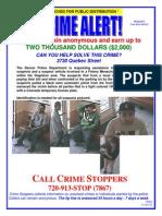 Denver Police Crime Alert