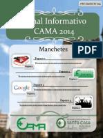 Jornal Informativo CAMA 2014