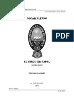 Alfaro, Oscar - 1974 - Circo de Papel