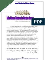 Ketika Kebenaran Didustakan Dan Kedustaan Dibenarkan oleh Abu Khaulah Zainal Abidin