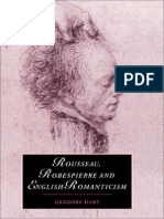 (Cambridge Studies in Romanticism ) Gregory Dart-Rousseau, Robespierre and English Romanticism (Cambridge Studies in Romanticism)-Cambridge University Press (1999)