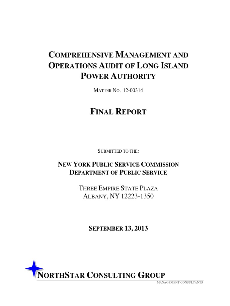 PSC Audit of LIPA 2013   Internal Audit   Risk 7655408a5d