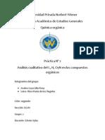 Informe de Quimica Organica 2