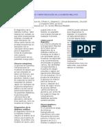 DIAGNÓSTICO Y MONITORIZACIÓN DE LA DIABETES MELLITUS