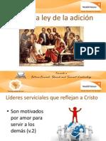 Jesús y la ley de la adición
