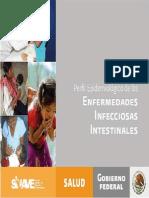 Perfil epidemiológico de infecciones gastrointestinales