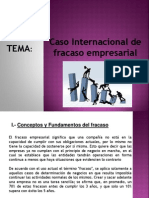 Gerencia Estrategica Caso Internacional de Fracaso Empresarial