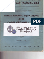 Civil Air Patrol Manual 20-1 Wings, Groups, Squadrons, and Cadet Organization