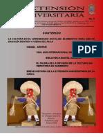 Gaceta Extension Universitaria 9 - Area Divulgacion