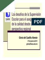 Gloria del Castillo supervisión los Mochis, 230611