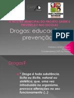 Drogas educação e prevenção