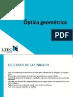 08 F1 Optica Geometrica 2013-I