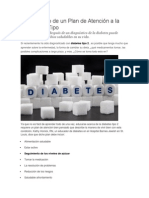 El desarrollo de un Plan de Atención a la Diabetes 2 Tipo