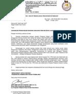 Surat Penggunaan Analisis Item 2013