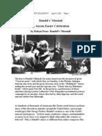 Handel's Messiah - A Joyous Easter Celebration
