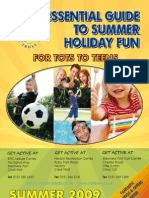 Ellesmere Port and Neston Summer Brochure 2009