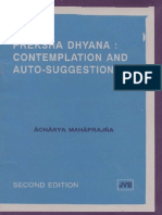 Preksha Dhyana Contemplation and Auto Suggestion 006555
