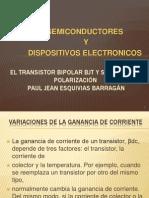 1. Polarizacion Del Transistor Bjt