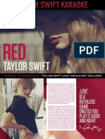 Digital Booklet - Taylor Swift Karaoke - Red.pdf