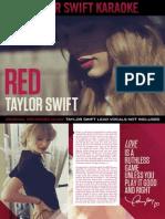 Digital Booklet - Taylor Swift Karaoke - Red.pdf