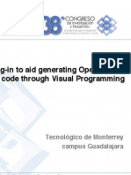 Eclipse plug-in to aid generating OpenMP and Pthreads code Through Visual Programming | CIDTEC 2008