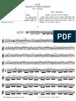 (Op[1]. 1) Metodo de Violino - Sevcik - School of Violin Tec