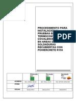 Instalación de Mantas WPC100M Lineas Nuevas