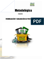 Guia Metodologica Formulacion y Evaluacion de Proyectos Sociales